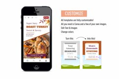 Thanksgiving Scroll Stopping Food Blogger Pinterest Pin Pack Product Image 6