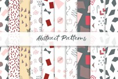 Abstract vector patterns. Big geometric collection, seamless Product Image 6