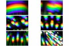 72 Photographs of Abstract Holographic Rainbow Backgrounds Product Image 2