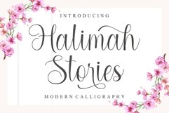 Halimah Stories | Modern Calligraphy Product Image 1