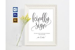 Guest book sign TOS_37 Product Image 1