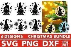 Christmas svg Bundle, Christmas Ornaments svg, Gnome Vector Product Image 1