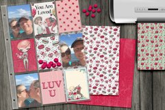 Valentine's Digital Paper Pack Product Image 4