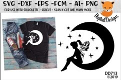Moon Fairy SVG Product Image 1