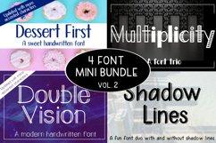 4 Font Mini Bundle - Volume 2 Product Image 1