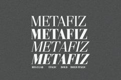 Metafiz - An elegant font Product Image 2
