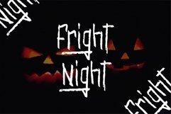 Web Font Olympia - Scary Brush Font Product Image 3