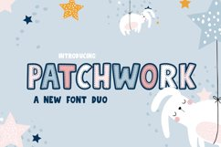 Patchwork Font Duo Product Image 1