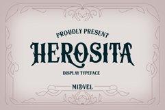 Herosita Typeface - Bonus Ornament Product Image 1