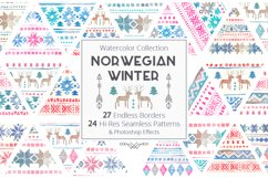 Norwegian Winter: Seamless Patterns Product Image 1