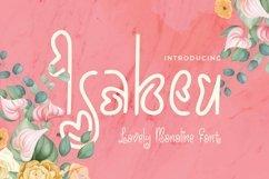 Web Font Isabeu Font Product Image 1