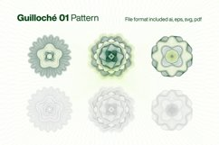 Guilloche 01 Pattern Product Image 1