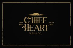 Chief Cart Vintage Typeface Product Image 5