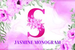 Jasmine Monogram Product Image 2