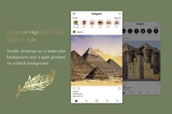 Hand drawn Watercolor Instagram Highlight icons travel cover Product Image 5