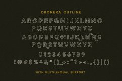 Cronera - Handcrafted Typeface Product Image 3
