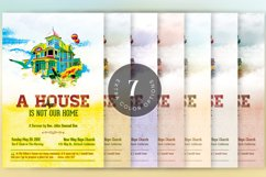 Our Home Church Flyer Template Product Image 6