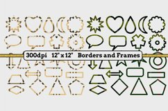 6 Sets x 22 Borders/Frames - Hearts and Tartans and a Floral Product Image 3