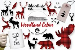 Woodland cabin graphics and illustrations Product Image 1