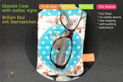 ITH - Glasses Case with Zodiac Capricorn - Embroidery file Product Image 5