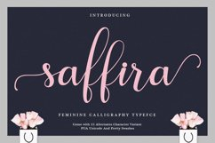 Saffira Script Product Image 1
