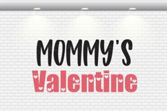 Valentine's Day - Mommy's Valentine SVG Cut Files Product Image 2