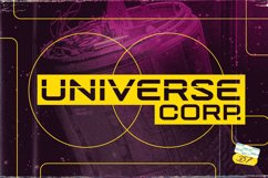 Jupiter Mission A Science-Fiction Font Spectacular Product Image 2