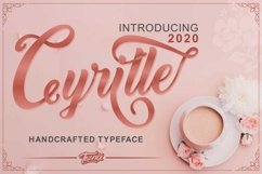 Cyrille Handcrafted Typeface Product Image 1