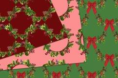 Christmas digital papers - Royal Christmas wreath Product Image 3
