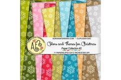 Colors and Themes for Christmas Papers 2 Product Image 1