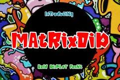 Matrixoid Bold Display font Product Image 1