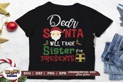 Will trade Sister for Presents SVG, Christmas Svg, Santa svg Product Image 1
