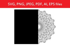 Card with mandala template Product Image 1