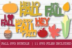 FALL SVG BUNDLE Product Image 8