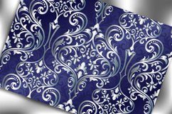 Victorian seamless pattern with ornament in vintage style. Product Image 3