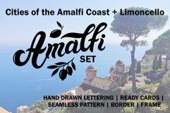 Amalfi Set. Amalfi Coast. Italy Product Image 1