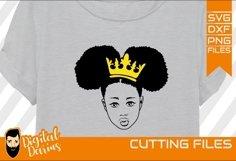 6x Black Woman Bundle SVG, afro lady svg, natural hair Product Image 2