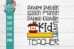 Kid Lovin Teacher SVG Product Image 2