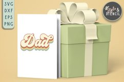 Dad SVG | Fathers Day | Retro Product Image 5