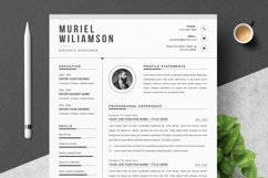 Cover Letter and Resume Template Product Image 1
