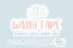 Washi Tape Doodle Font | Doodle Font Product Image 1