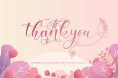 Amiela - Flower Calligraphy Product Image 3