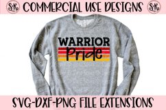 Warrior Pride SVG DXF PNG Product Image 1