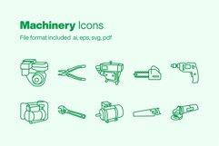Machinery 10 Icons Product Image 1