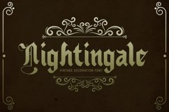 Nightingale - Medieval Font Product Image 1