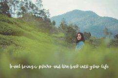 JAKARTA GETAWAY a Cute Handwritten Font Product Image 2