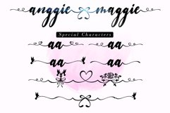 Anggie & Maggie // Modern Script Product Image 5