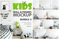 KIDS WALL & FRAMES Mockup Bundle - 3 Product Image 1