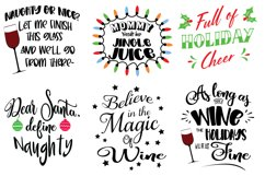 Wine Bundle Svg Cut Files Product Image 3