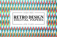 Retro Design Digital Papers Product Image 1